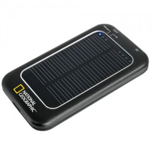 National Geographic Solar Power Charger + Power Bank